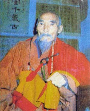 Precursor of Shaolin Honorary Abbot, Fang Zhuang